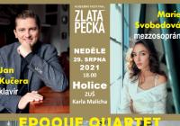 Hudební festival Zlatá Pecka - Epoque Quartet a Marie Svobodová