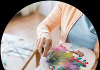 Víkendové malování v ateliéru v Praze