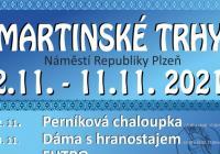 Martinské trhy v Plzni