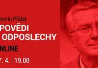 LIVE stream - Antonín Přidal Zpovědi a odposlechy