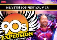 90s Explosion open-air festival Praha 2022
