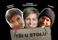 LIVE stream - Tři u stolu - hosté Petr Forman a Víťa Marčík – moderuje Jakub Špalek