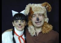 Pejsek a kočička jdou do divadla - pro děti