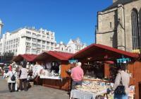 Václavské trhy v Plzni