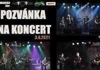 LIVE stream - Kluboofka Family - koncert kapel Torrax, Dangar Six, Rock String