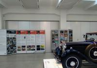 Filmové klapky ve Škoda muzeu v Mladé Boleslavi