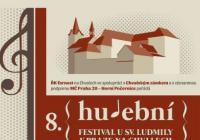Hudební festival u sv. Ludmily v Praze na Chvalech