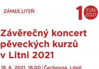 Závěrečný koncert interpretačních kurzů v Litni