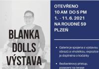 Vystava panenek a kočárků Blanka dolls