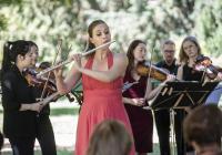 Akademie komorní hudby na vodním pódiu GASK