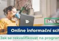 Online informační schůzka: Jak se rekvalifikovat na programátora?