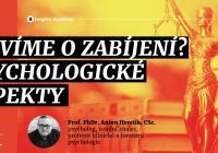Anton Heretik: Co víme o zabíjení? Psychologické aspekty | Webinář
