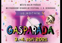 Gasparáda - deset let s vámi! - mezinárodní divadelní festival J. G. Deburaua