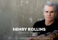 Henry Rollins v Praze