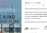 Veřejná prezentace výsledků architektonické soutěže - Velké kino moderního Zlína