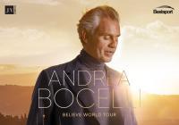 Andrea Bocelli v Praze 2022