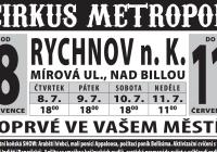 Cirkus Metropol v Rychnově nad Kněžnou
