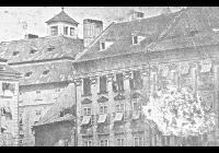 Bedřich Franz - daguerrotypie Brno-Zelný trh