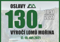 Oslavy 130. výročí lomů Mořina