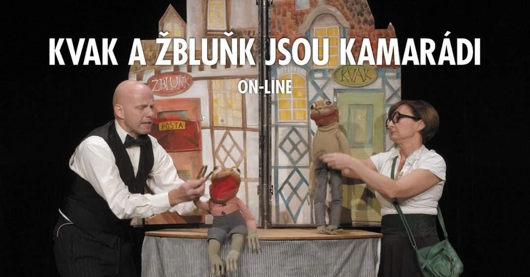 LIVE stream - Kvak a Žbluňk jsou kamarádi