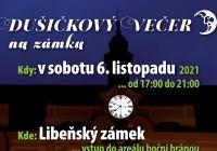 Dušičkový večer na Libeňském zámku