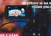 Jsme s vámi - online talkshow se Saxanou a její rodinou Petra Černocká, Barbora Vaculíková a Jiří Pracný