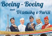 Pražské divadelní léto - Boeing - Boeing aneb Tři letušky v Paříži