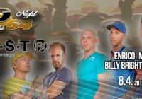 Studio 54 night with Enrico, Kifli, Finidi, Marty Fish, Billy Bright, Filip Hucek