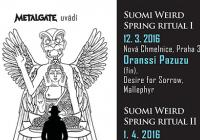 Suomi Weird Spring Ritual III / Mr. Peter Hayden Band (fin), Postcards from Arkham/Between the Planets