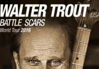Walter Trout / Battle Scars Tour 2016