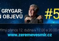 Jiří Grygar, Žeň objevů 2015 – premiéra v přímém přenosu