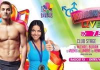 Rainbow Spring party: Live it up!