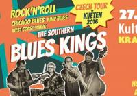 The Southern Blues Kings (UK) - Czech Tour 2016