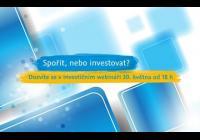 Investiční webinář