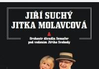Jiří Suchý, Jitka Molavcová a orchestr divadla Semafor