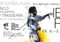 Puerto flamenco, Patricio Hidalgo - action painting, Trio Eduardo Trassierra