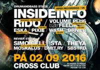 Jungle DnB Session with Insideinfo (UK) & T2B crew & Revier with Simo Cell