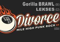 Reno Divorce /USA/ - Gorilla Brawl /DE/ - Lekses /CZ/