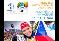 BMW IBU World Cup Biathlon 2016 / závody s hrom. startem muži a ženy