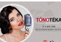 Tónotéka / Benefiční koncert Anny Beránkové