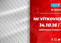 12. kolo: HC Olomouc – HC Vítkovice Ridera