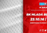 15. kolo: HC Olomouc – BK Mladá Boleslav