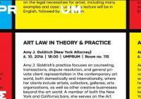 Art Law In Theory & Practice