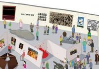 Jak se dělá galerie? Dobrodružná hra pro děti v rámci křtu knihy