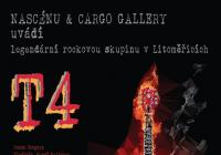Koncert legendární T4 na lodi CARGO Gallery