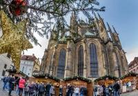 Rozsvícení vánočního stromečku na Pražském hradě