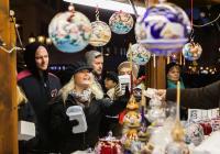 Vánoční trhy na náměstí Republiky