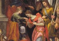 Dílo měsíce: Mystické zasnoubení svaté Kateřiny