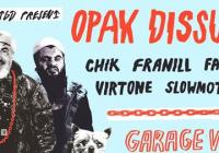 Garage vinyl sale w/ Opak dissu – Acid Movement – WNTGD