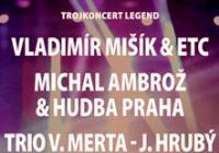 Vladimír Mišík, Michal Ambrož & Hudba Praha, Trio V. Merta-J